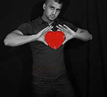 I bare my heart to you! by Andy  Hall