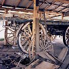 Wheels of Carts & Wagons by 4spotmore