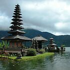 Bedugul temple by alokojha