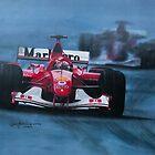 Formula 1. Schumacher   by jan farthing