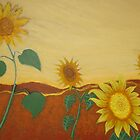 JULIE'S SUNFLOWERS by RoseLangford