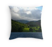 Somewhere Along Ullswater, Lake District Throw Pillow