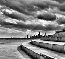 Skyline, Turbulent Skies by James Watkins