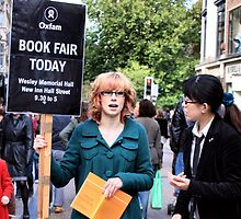 Placard Girl by SoulSparrow