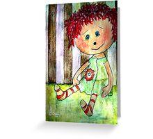 Sally Sunshine Greeting Card