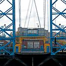 Hanging around the Transporter Bridge, Middlesbrough by davejw