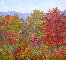 Fall in the mountains 1 by Julia Lesnichy