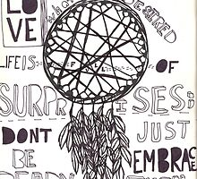 Dreamcatcher and Quote by Linda Echeverry