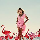 Venus of The Flamingos  by Brian David  Braun
