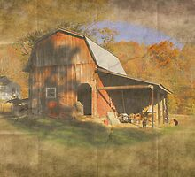 Little Red Barn by Stephanie Reynolds