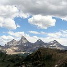 Teton Range (view from Grand Targhee)  by jhprints