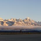Jackson Hole Airport Winter by jhprints