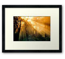 Morning Journey Framed Print