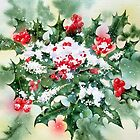Holly and Snow by Ann Mortimer