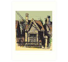 11 Reserve St, Annandale Art Print