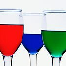 RED, BLUE & GREEN by RajeevKashyap