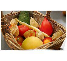 Harvest - Fruit and Vegetables Poster