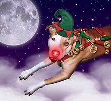Santa's Employee of the Month II by Linda Hardt