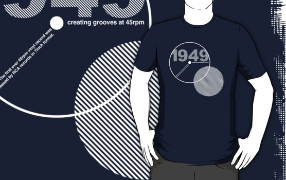 1949 The birth of 45rpm by modernistdesign
