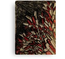 Stryations/Traveller Canvas Print
