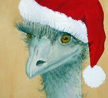 """Christmas Emu"" by sooziii"