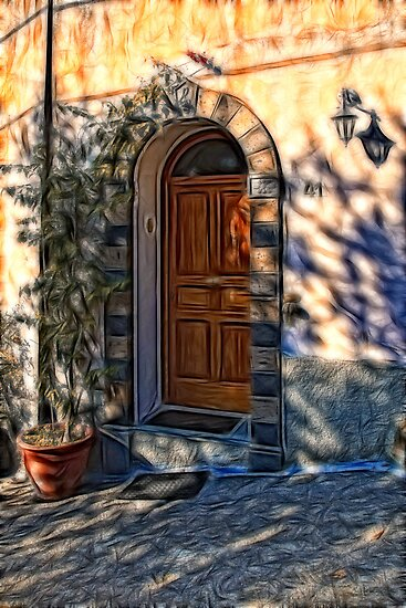 The Italian Door by David Lewins