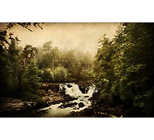 Once upon a time.. a waterfall Photographic Print