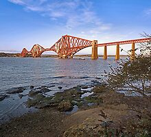 Firth of Forth in Wide Angle by John44