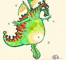 Ms Dragon by Donata Zawadzka
