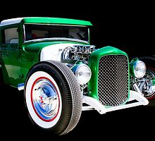 1930 Ford Model A Pickup by Robert Beck