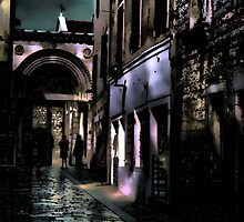 *Dark Lane, Porec* by Colin Metcalf