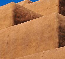 Escaleras de Santa Fe by Skip Hunt