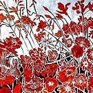 "Symphony in Red by Belinda ""BillyLee"" NYE (Printmaker)"