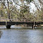 Old Bridge at Major Creek Reserve, Victoria by aussiebushstick