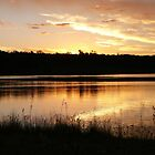 Twilight over Lake Boondooma by aussiebushstick