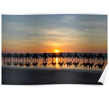 Ships of the Desert, Cable Beach 1 Poster