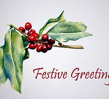Festive Greetings by Debbie Schiff