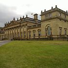 Stately Home, Threatening Skies - N900 by Mark Chandler