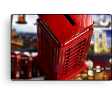 AMAZING LONDON - Telephone - UK - I missed London so much today! Canvas Print