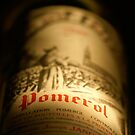 Pomerol red wine bottle by Denis Charbonnier