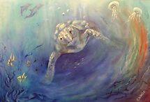 Underwater Games by Cheryl White