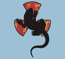 Radioactive Gecko Cool T-Shirt Design by Denis Marsili - DDTK
