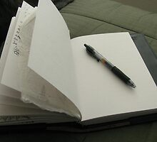 Blank Page (Journal Series) by Sarah Trent