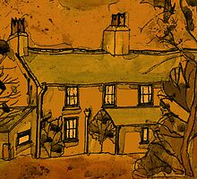 autumn..the fall..wales..uk..a..farmhouse.. by philsart