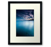 Big blue - Derwent River Framed Print