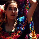 Folklorico Dancer by Loree McComb
