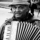 Street Photography - Accordionist by dansLesprit