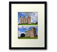 This is Leamanagh Castle between Corofin and Kilfenora , County Clare, Ireland. Framed Print
