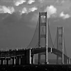 Mackinac Bridge No. 050727 by Theodore Black
