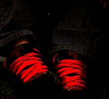 tie me up in red laces  by twistwashere